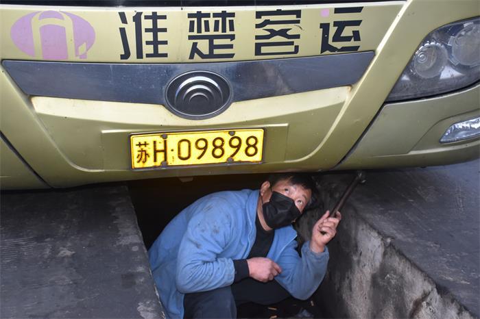 淮安客总车检修确保运营顺畅