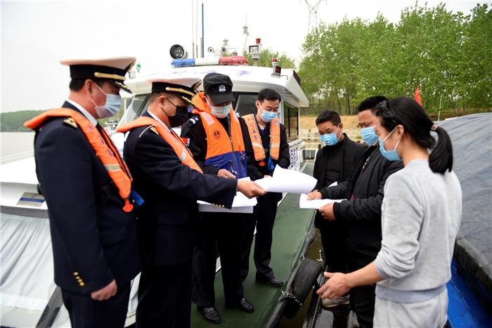 淮安 洪泽海事牵头开展水上交通安全专项整治行动