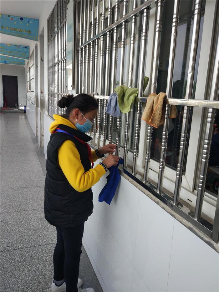 淮安席桥镇中心小学组织开展防疫情从卫生习惯做起