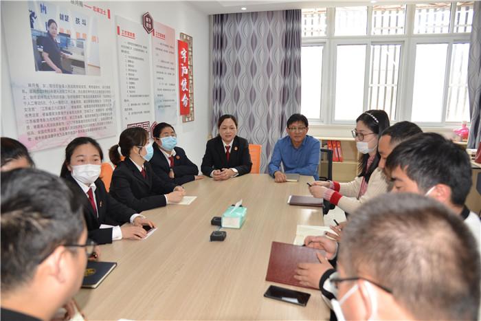 盱眙县法院运用实境课堂增强党性意识