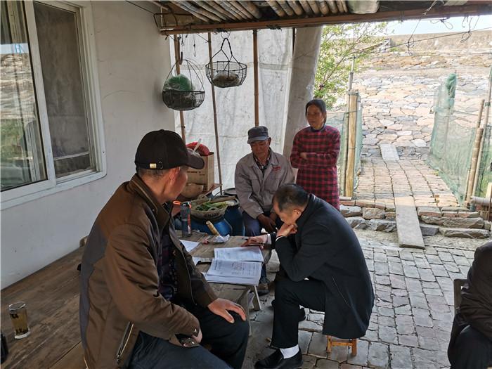 金湖县前锋镇积极开展社会救助排查工作