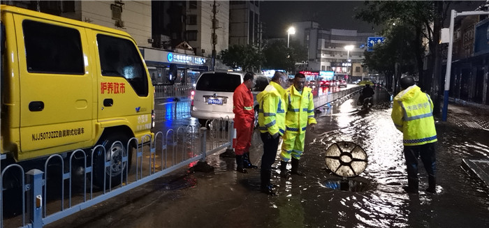 淮安市住建局及时应对汛期预情