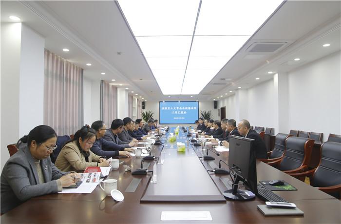 淮陰區人大常委會視察法院工作